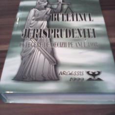BULETINUL JURISPRUDENTEI CULEGERE DE DECIZII PE ANUL 1998-CONSTANTIN CRISU - Carte Jurisprudenta