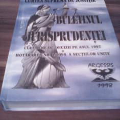 BULETINUL JURISPRUDENTEI CULEGERE DE DECIZII PE ANUL 1997-CONSTANTIN CRISU - Carte Jurisprudenta