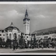 TARGU MURES - MAROSVASARHELY - ANIMATIE - IN TIMPUL RAZBOIULUI - ANUL 1941, Circulata, Fotografie