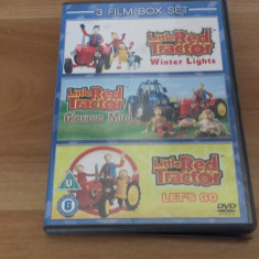 3 FILM Box - SET -  Little red tractor  - DVD [C,cd], Engleza