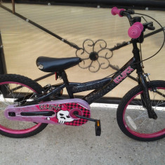 BMX Eclipse Pink bicicleta copii 18