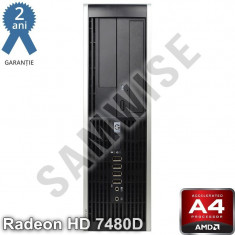 HP 6305 SFF AMD A4 X2 5300 3.4GHz (3.6GHz) 4GB DDR3 160GB HD 7480D VGA DP DVD-RW - Sisteme desktop fara monitor HP, Peste 3000 Mhz, 100-199 GB, FM2