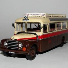 Macheta autobuz CITROEN TYPE 46 DP UAD - 1955 scara 1:43