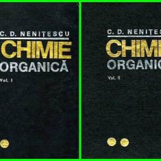 Chimie organica vol. I - II - Autor(i): Costin D. Nenitescu - Carte Chimie
