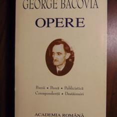 Opere - George Bacovia (Academia Romana, 2001) Editie de lux, 1000 pag - Carte de lux