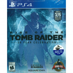 Rise Of The Tomb Raider 20 year celebration PS4 - Jocuri PS4