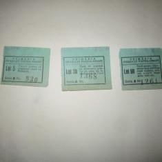 3 bilete rare taxa primarie interbelice piatra neamt c ceasuri