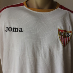 Tricou fotbal JOMA SEVILLA FC DE 5 ORI CASTIGATOARE A CUPEI UEFA - Echipament fotbal Joma, Marime: L