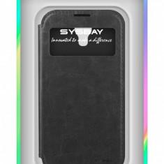 Husa piele Samsung I9500 Galaxy S4 Sysbay View Blister Originala - Husa Tableta