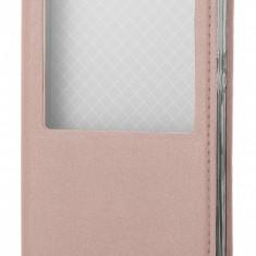 Husa piele Huawei P8lite (2015) case Smart View Roz - Husa Tableta