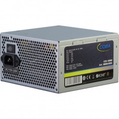 Sursa Inter-Tech Coba CES-400B, 400 W, ATX 2.3, 80+ Bronze, Dual Rail - Sursa PC, 400 Watt
