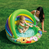 Piscina gonflabila cu parasolar Winnie the Pooh - INTEX 57424 - Piscina copii