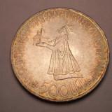 Replica Moneda  500 lei 1941- 4,4 cm diametru