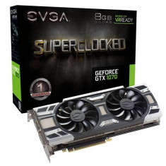 Placa video EVGA GTX 1070 Superclocked - Placa video PC