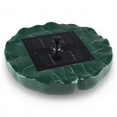 Blumfeldt Sunfountain fântână de apă solara in forma de crin 150 l / h control - Scaun gradina