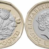 NOU - Marea Britanie moneda 1 Pound 2017 - UNC, Europa