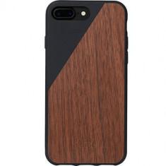 Husa Protectie Spate Native Union CLIC-BLK-WD-7P Walnut Wood Negru pentru Apple iPhone 7 Plus - Husa Telefon
