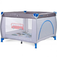 Tarc de joaca Caretero Traveler 100 x 100 Grey