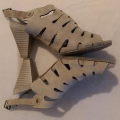 Sandale de vara Benvenuti - Sandale dama Benvenuti, Culoare: Bej, Marime: 38.5