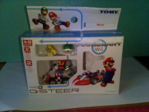 bnk jc Tomy - Q-Steer Mario Kart Wii Racing Set