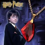Pandantiv Medalion Lantisor Harry Potter Piatra Filozofala - Pandantiv fashion