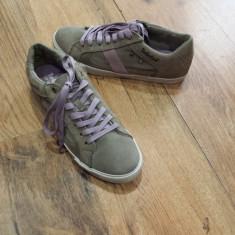 Pantofi /Tenisi dama TIMBERLAND Earth Keepers Sommets originali noi piele 41 - Pantof dama Timberland, Culoare: Gri, Piele intoarsa, Cu talpa joasa