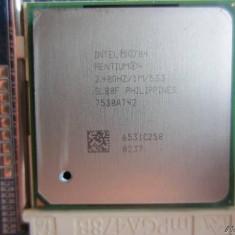 Procesor Intel Pentium 4 2.40 Ghz SL88F socket 478, 1