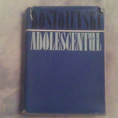 Adolescentul-F.M.Dostoievski