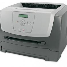 Imprimanta Laser Monocrom A4 Lexmark E350d, 33 pagini/minut, 45.000 pagini/luna, 1200 x 1200 DPI, Duplex, USB, LPT, Cartus Toner NOU, 2 ANI GARANTI