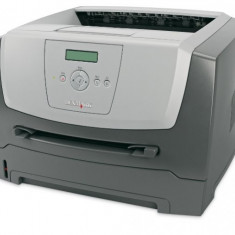 Imprimanta Laser Monocrom A4 Lexmark E350d, 33 pagini/minut, 45.000 pagini/luna, 1200 x 1200 DPI, Duplex, USB, LPT, Cartus Toner NOU, 2 ANI GARANTI - Imprimanta laser alb negru