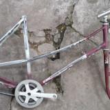 Vand Cadru de bicicleta dama Bianchi, 24 inch, 28 inch, Numar viteze: 2
