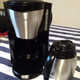 Filtru cafea Philips HD7546 - inox, 1000 w , cana termos !