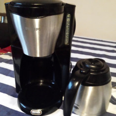 Filtru cafea Philips HD7546 - inox, 1000 w, cana termos ! - Cafetiera
