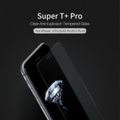 Geam iPhone 6 Plus 6S Plus 7 Plus 8 Plus Tempered Glass Super T+ Pro by Nillkin - Folie de protectie Nillkin, Lucioasa