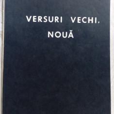 MIRCEA IVANESCU - VERSURI VECHI, NOUA (editia princeps, 1988) - Carte poezie