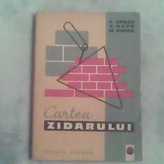Cartea zidarului-Ing.Cezar Epure,Arh.V.Hopu,Ing.Mihai Stoica