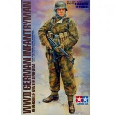 + Figurina scara 1/16 Tamiya 36304 - WWII German Infantryman + - Macheta auto