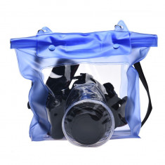 Husa Waterproof(rezistenta la apa)pentru camere foto DSLR, SLR si TELEFOANE - Husa Aparat Foto Alta