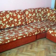 Canapea coltar + fotoliu