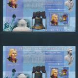 Congo 2006 48 Euro personalitati presed. americani T. Jefferson -colite nest MNH - Timbre straine, Nestampilat