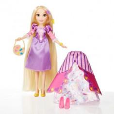 Papusa Rapunzel cu rochita fashion