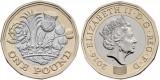 Marea Britanie moneda 1 Pound 2016 - UNC