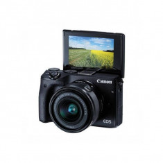 Aparat foto Mirrorless Canon EOS M3 24.2 Mpx Black Kit M15-45 S