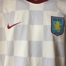Tricou fotbal NIKE ASTON VILLA Campioana Anglie.Europei si Mondiala - Echipament fotbal Nike, Marime: XL