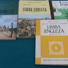 LOT 4 MANUALE LIMBA ENGLEZĂ - Manual scolar Altele, Clasa 6, Limbi straine