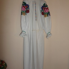 CAMASA POPULARA CU POALE / ZONA MOLDOVEI - Costum popular