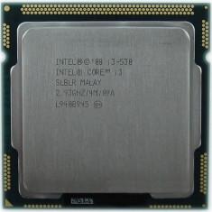 Procesor i3 530 intel socket 1156 4M Cache, 2.93 GHz - Procesor PC, Intel Core i3