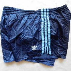 Pantaloni scurti vintage Adidas Made in West Germany; marime L (M); ca noi - Bermude barbati, Marime: L, Culoare: Din imagine
