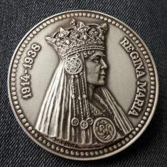 Medalie Regina Maria - Castelul Pelisor - Medalii Romania