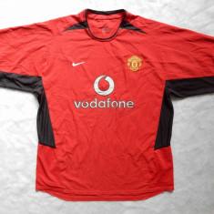 Tricou Nike Manchester United; Marime XL: 62 cm bust, 76 cm lungime; ca nou - Tricou barbati, Culoare: Din imagine